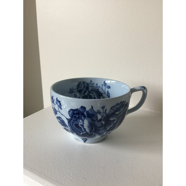 Ceramic Johnson Brothers English Blue & White Dinnerware For Sale - Image 7 of 8