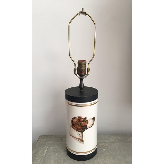 English Frank Vosmanski for Abercrombie and Fitch Mid Century Dog Lamp For Sale - Image 3 of 13