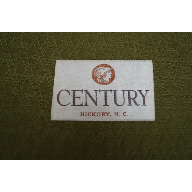 Century Furniture Co. Faux Bamboo Lounge Chair - Image 7 of 10