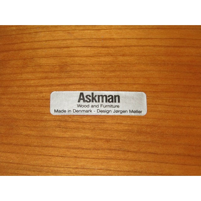 Jorgen Moller Mid-Century Askman Stool For Sale In West Palm - Image 6 of 6