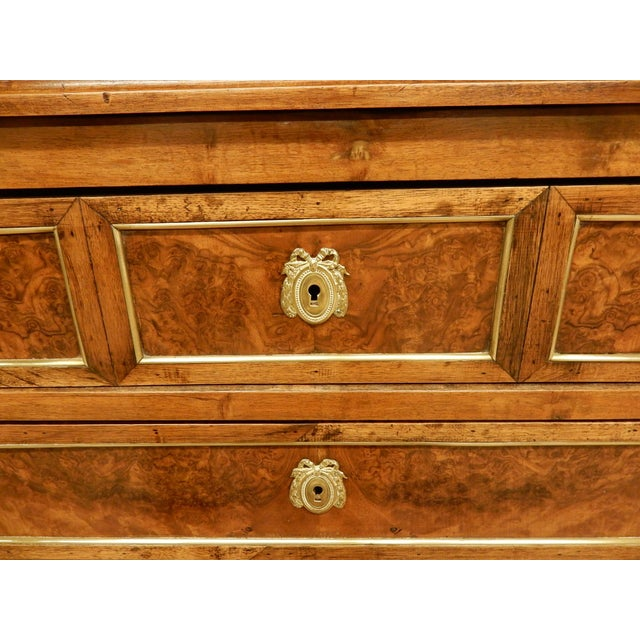 Mid 19th Century 19th C. French Louis XVI Style Walnut Commode For Sale - Image 5 of 11