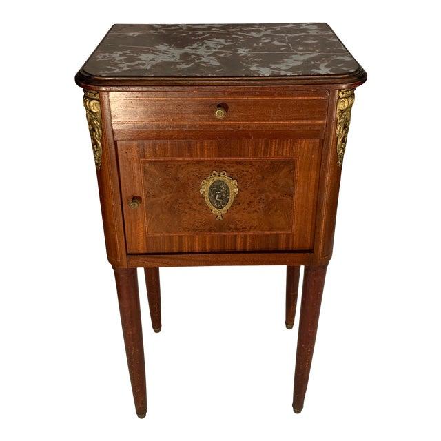 Antique French Bedside Cabinet For Sale