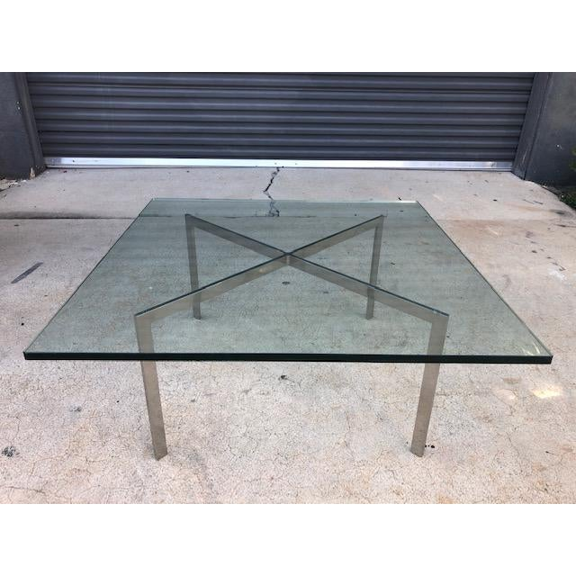 1950s Vintage Barcelona Coffee Table By Mies Van Der Rohe For Knoll Chairish
