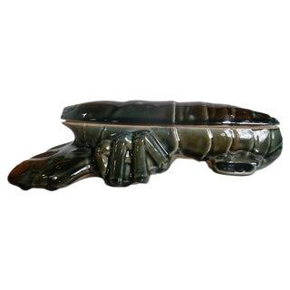 Majolica Lobster Ceramic Box