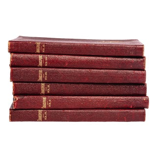 Antique Shakespeare Book Set - Set of 6 For Sale