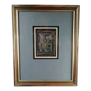 Abstract Painting by Paul A. Dufour For Sale
