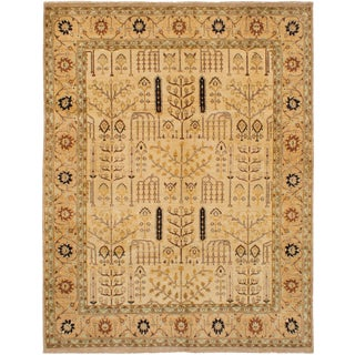 """Hand-Knotted Indian Rug, 8'0"""" x 10'3"""" feet"""