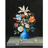 Image of Contemporary Floral Still Life Oil Painting by Satori Gregorakis For Sale