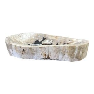Petrified Wood Ashtray/Tray For Sale