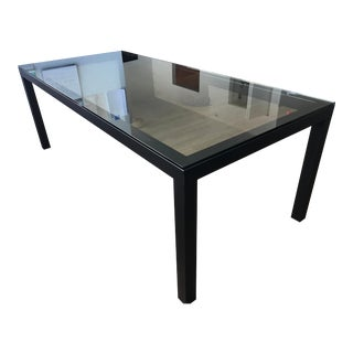 Patterson Glass Dining Table For Sale