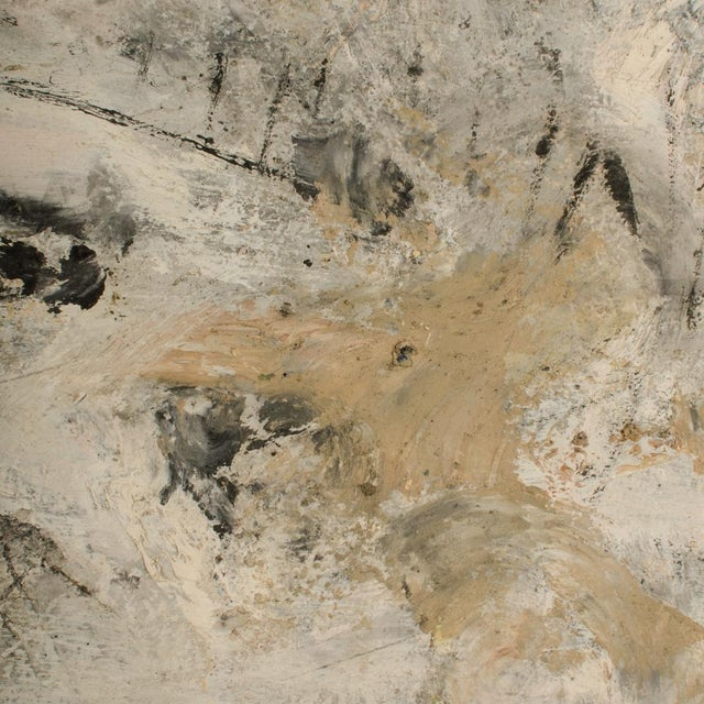 Mid 20th Century Abstract Oil Painting by Newton Haydn Stubbing For Sale - Image 11 of 13