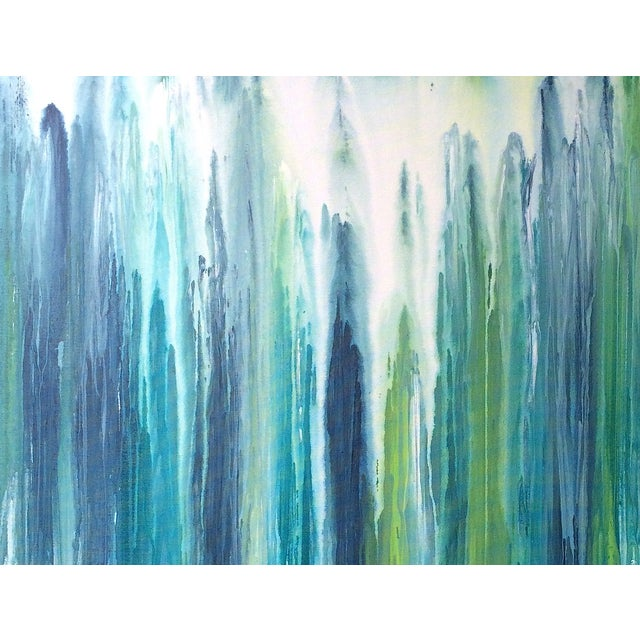 'Waterfall' Abstract Painting by Linnea Heide For Sale - Image 6 of 7