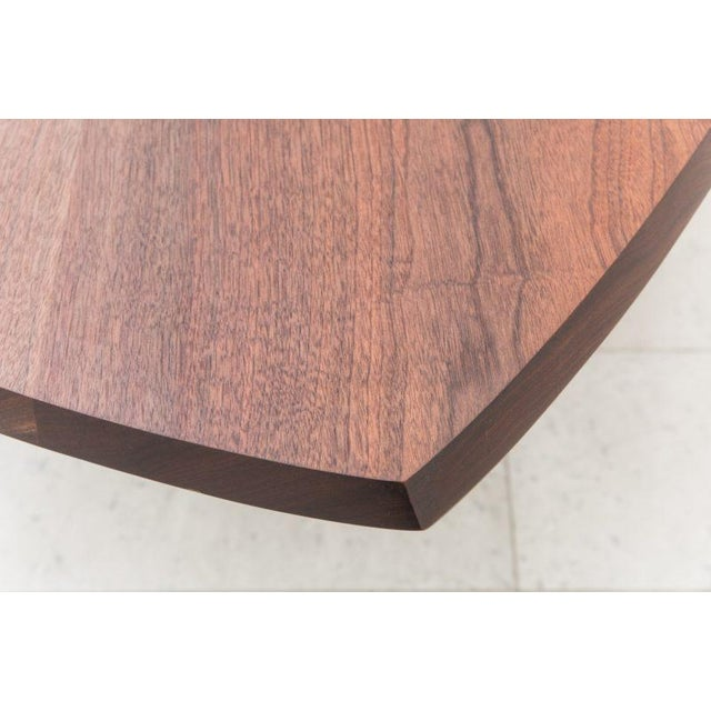Markus Haase, Bronze, Walnut, and Limestone Dining Table, Usa, 2018 For Sale - Image 12 of 13