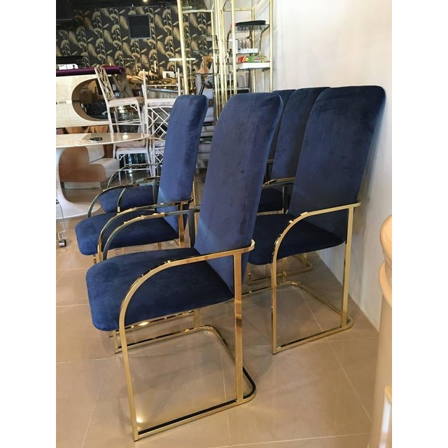 Amazing set of 12 twelve vintage dining arm chairs armchairs. Tagged DIA Design Institute of America. Newly upholstered in...