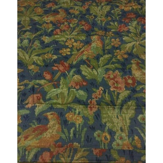 Schumacher Greeff Canterbury Hill Classic English Tapestry Style Multi-Purpose Cotton Print Fabric - 2.75 Yds For Sale