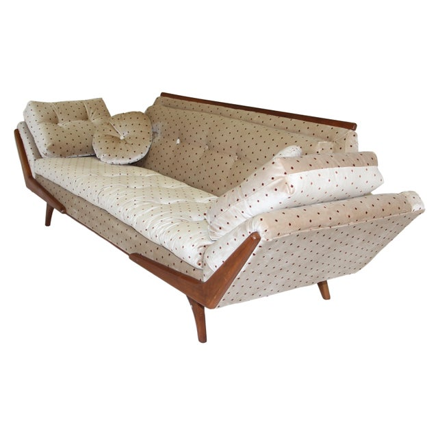 Mid-Century Modern Mid Century Sofa Inspired by Adrian Pearsall Made by Rowe For Sale - Image 3 of 10