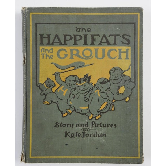 "Paper ""Happifats & the Grouch"" 1917 Book For Sale - Image 7 of 7"