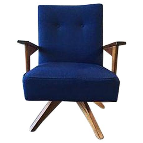 Mid-Century Rocker Swivel Chair - Image 1 of 8