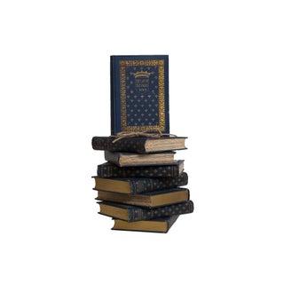 Antique Navy and Gilt French History Gift Set, (S/8) Preview