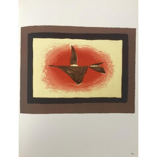 """1963 """"Au Couchant"""" Lithograph by Georges Braque For Sale"""