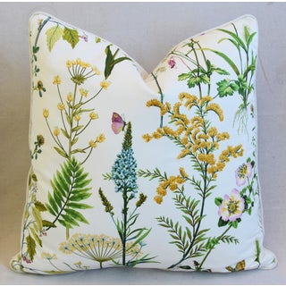"Cottage Cotton & Linen Wildflower Feather/Down Pillow 24"" Square Preview"