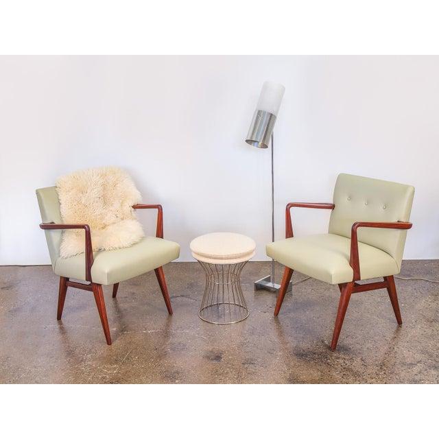 Jens Risom Model 108 Walnut Side Chairs - Image 11 of 11