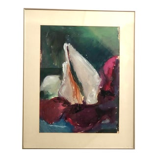 Original Abstract Still Life Painting For Sale