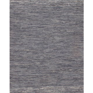 Pasargad N Y Indo Denim Reversible Hand Woven Rug - 6' X 9' For Sale