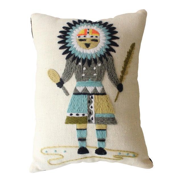 Kachina Dancer Throw Pillow For Sale