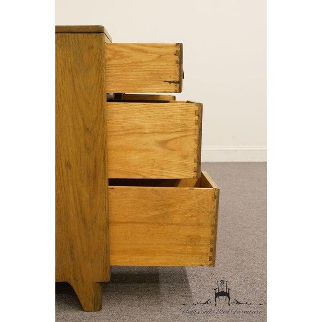 """Brown Davis Cabinet Co. Solid Oak Richwood Finish 48"""" Vanity For Sale - Image 8 of 13"""