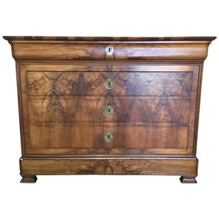 Beautiful 19th Century Louis Philippe Chest of Drawers For Sale