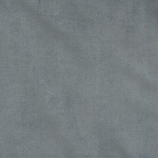 Schumacher Empress Performance Velvet Fabric in Pewter For Sale