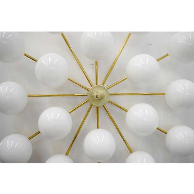 Globes Flush Mount by Fabio Ltd For Sale - Image 9 of 12