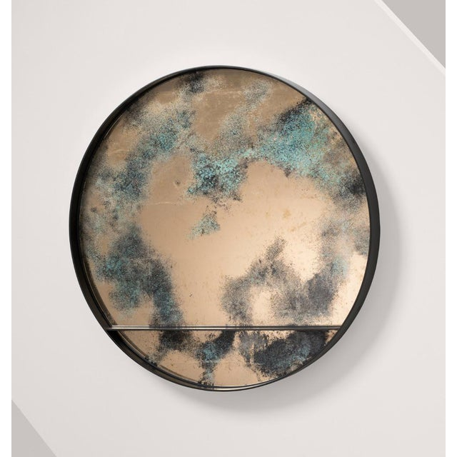 Contemporary The Orbit Wall Mirror by Emma Peascod For Sale - Image 3 of 6