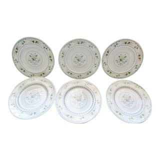 Vintage Royal Doulton Provencal Tc1034 Salad Plate Made in England - Set of 6 For Sale
