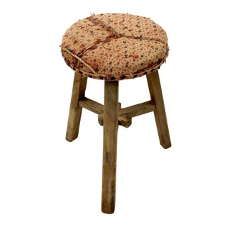 Vintage Sarreid LTD Yi Embroidered Stool