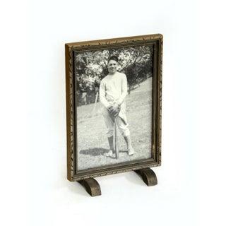 Framed Portrait of Baseball Player Preview