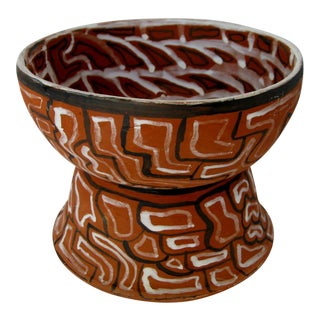 Peruvian Clay Footed Coupe