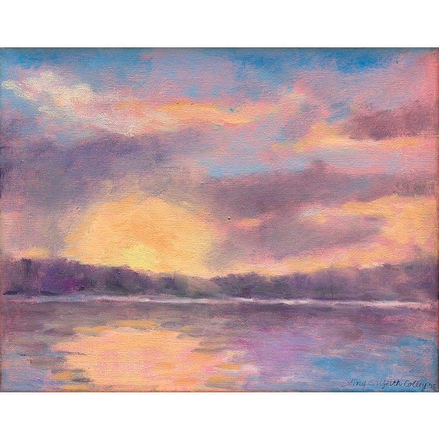 """""""Lake Carey Sunrise"""" by Amy Griffith Colley Print For Sale"""