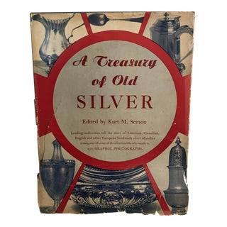 1947 'A Treasury of Old Silver' Book For Sale