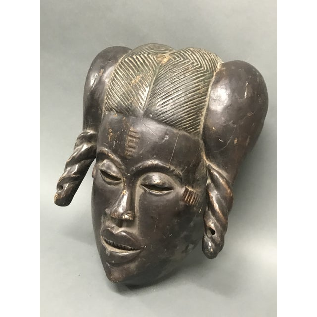 Tribal African Tribal Art Ibibio Mask For Sale - Image 3 of 6