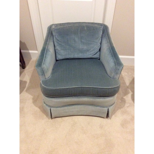 1970s Vintage Drexel Heritage Armchairs - a Pair For Sale - Image 12 of 13