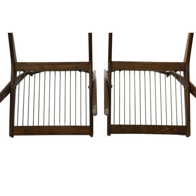 Pair Folke Ohlsson Dux Scissor Lounge Chair - Image 9 of 10