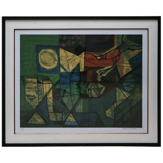 Roberto Burle Marx Abstract Print For Sale