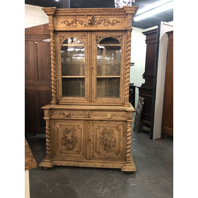 19th Century French Louis XIII Bibliotheque For Sale In Atlanta - Image 6 of 6