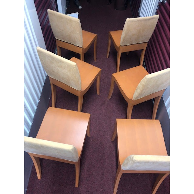 Gorgeous set of Ligne Roset Dining Room Chairs in amazing condition. Known for modery luxury, Ligne Roset does not fail in...