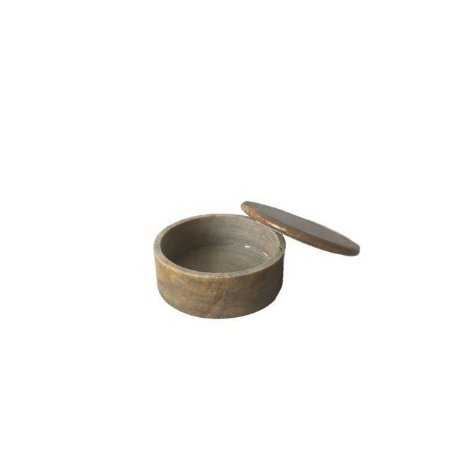 Round Granite Spice Canister - Image 3 of 5