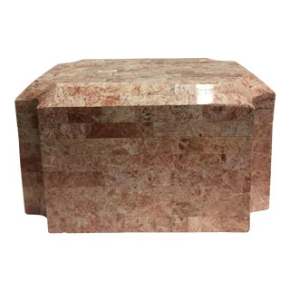 Maitland-Smith Coral Tessellated Box