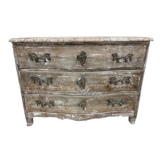 19th Century French Provencal Stripped Commode For Sale