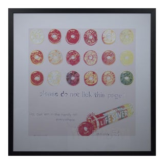 Andy Warhol, Lifesavers, Offset Lithograph, 1999 For Sale